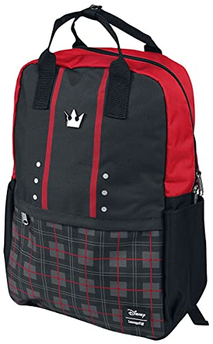 Loungefly Kingdom Hearts Sora AOP Square Nylon Backpack