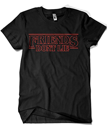 Camisetas La Colmena 1586-Stranger Things - Friends Dont Lie