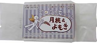 沖縄子育て良品 アロマのせっけん 月桃&よもぎ (100g)