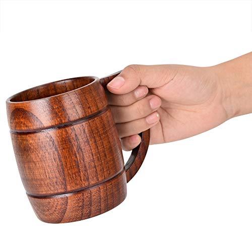 Taza, Taza de Cerveza de Madera, Taza de bambú para Beber Agua, Caja Fuerte para Cocina de Bar