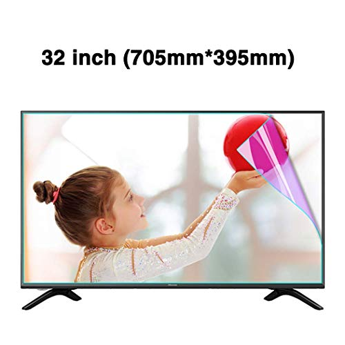 AP.DISHU 32 inch Anti-Blu-Ray TV Screen Protector/LED Screen Protector Bestanden - Anti-Vingerafdruk Olie Vlek/Oogbescherming/Stralingsreductie
