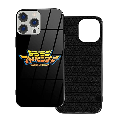 Supporto TPU per iPhone 12/12 Pro Max 12 mini 11 Pro Max SE X XS Max XR 8 7 6 6s Plus Custodie Digimon Logo Cover per cellulare in vetro