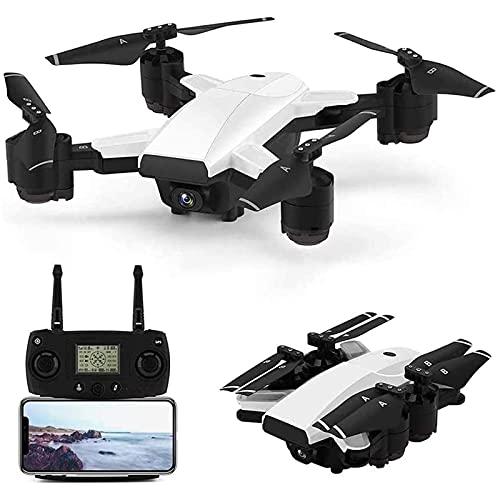 HAOJON Drone RC Plegable para Adultos Quadcopter RC, 5G WiFi FPV con cámara HD 1080P Video en Vivo GPS Drone 30Mins Long Flight Time Smart Return Home