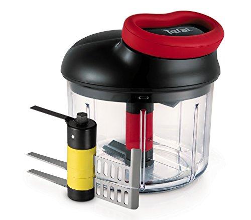 Tefal K0981114 Hachoir 900mL + 2nd lame purée ustensile de cuisine à système rotatif breveté