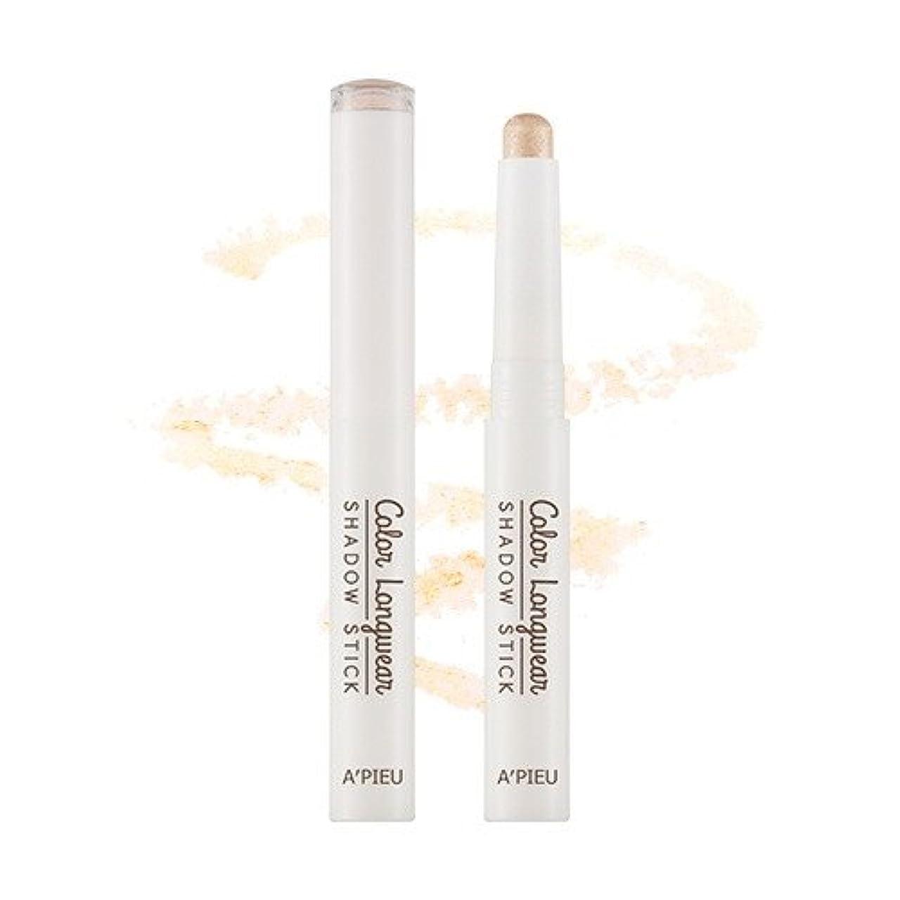 裁判官誘発する万一に備えてアピュ [APIEU] APIEU Color Long Wear Shadow Stick (BE01)