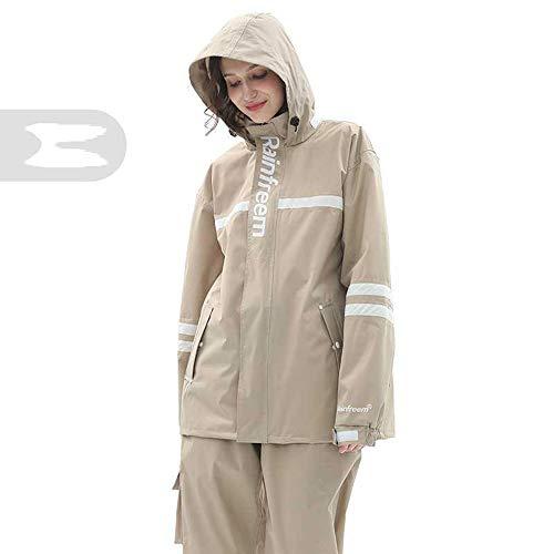 Dameng Raincoat Regen Hosenanzug Anti-Storm Regen-Poncho Imbiss Ganzkörper-Riding Elektro-Auto-Raincoat,D,M