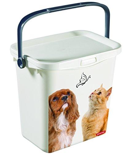 Curver Petlife Futterbox Snackbox Futter Tonne 6 Liter Box Futterbehälter Multibox