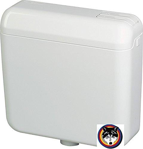 Schwab WC Spülkasten Aufputz weiss , ähnlich Geberit , 2 Mengen Spülung