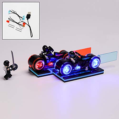 QJXF Juego De Luces USB Compatible con Lego Ideas Tron Legacy 21314, LED Light Kit para (Ideas Tron Legacy) De Bloques De Creación De Modelos (No Incluido Modelo)