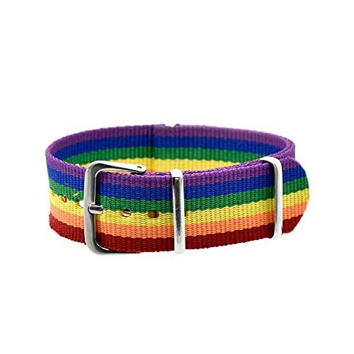 BDM Pulsera LGBT Tela, Lesbiana, transexual, lgtbi y arcoíris