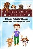 addestramento cani 2.0; il manuale pratico per educare e addestrare il tuo cane in breve tempo