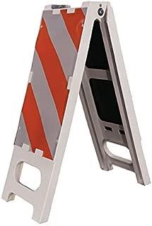 Cortina 97-01-006 Polypropylene Vertical Folding Barricade, 12