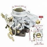 Hcodec 1 Barrel DOWNDRAFT Carburetor UNIVERSAL Willys CJ3B CJ5 CJ6 134 FALCON 188