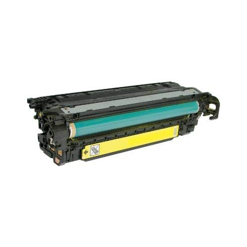Calitoner Remanufactured Laser Toner Cartridge Replacement for HP CE252A -Yellow Photo #6