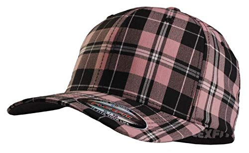 Flexfit Cap Plaid Pink - S-M