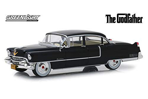 1955 Cadillac Fleetwood Series 60, The Godfather - Greenlight 84091 - 1/24 Scale Diecast Model Toy Car