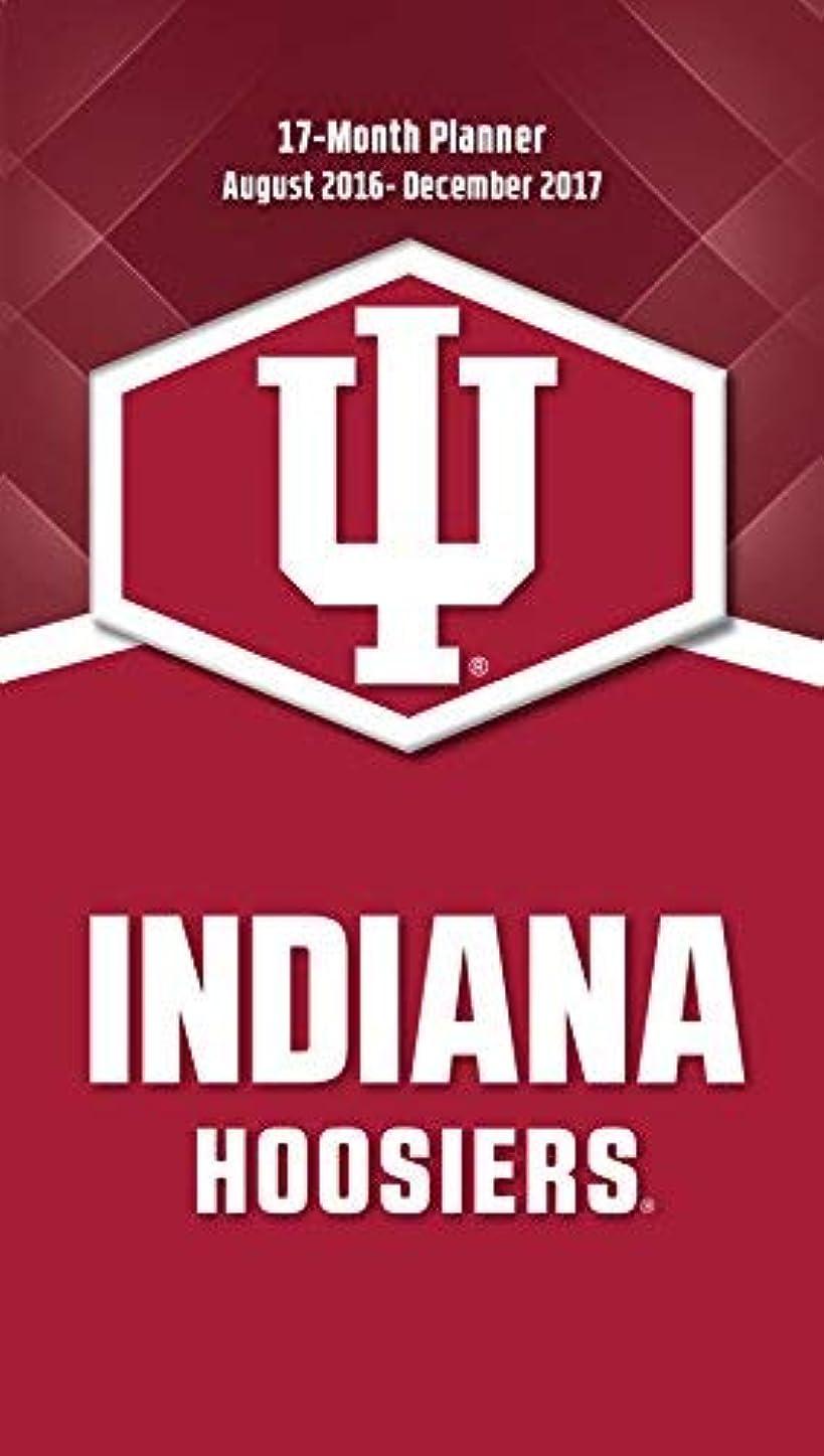 より良いによって隠すTurner Licensing Sport 2017 Indiana Hoosiers 17 Month Planner (17998890525) [並行輸入品]