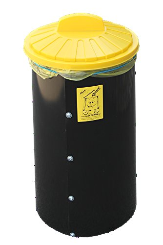 Sacktonne - sehr nützlich Mülltonne/Standhilfe als geniale Einfüllhilfe für Gelbe Säcke - Wertstofftonne, Müllsackständer, Weihnachtsgeschenk