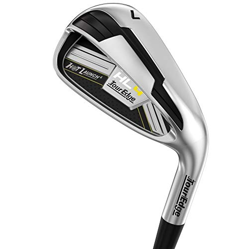 Tour Edge Golf Hot Launch 4 HL4 Iron Set (Right, Graphite, Ladies)