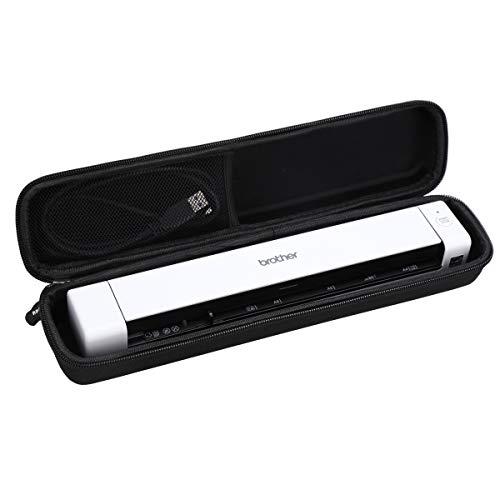 Aproca Duro Viajes Funda Bolso Caso para Brother DS-640/DS-740/DS-820W/Doxie Go SE Escáner