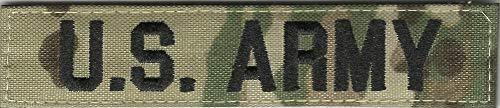 1' x 5' Multicam Name Tape - U.S. Army