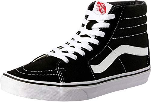 Vans Herren U SK8-HI High-Top Sneaker,Schwarz (Black), 45 EU