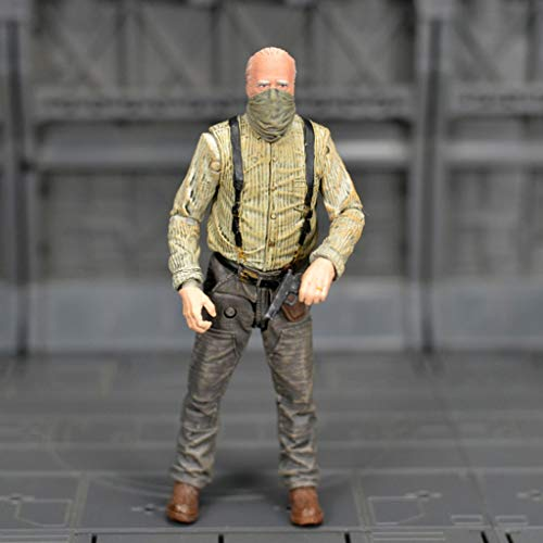 YYBB TV: The Walking Dead -Hershel Greene Azione Vinyl Figure e Exquisite Box Collection vetrina Decorativa Giocattoli Popolari Personaggi 5 Pollici (Scatola Non Originale) Figurines