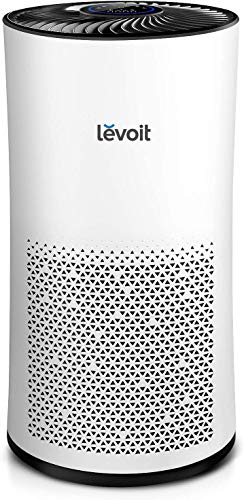 LEVOIT Air Purifier for Large Room Bedroom, Air Cleaner with H13 True HEPA Filter, Captures 99.97% of Airborne Droplets Particles, Allergies, Dust, Pets, Smoke, Mold, Pollen, Quiet Odor Eliminators