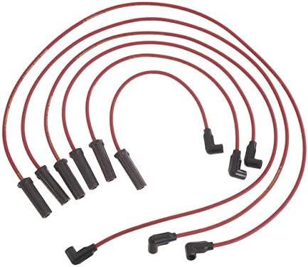 Spark Fresno Mall Plug Wire Set - Compatible Sacramento Mall 1999-2008 Grand Pontiac Pr with