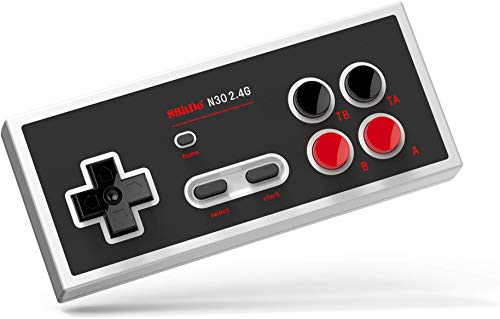 8Bitdo N30 2.4G Wireless Gamepad for NES Classic Edition,Compatible with Nintendo Switch, Plug and play, No lag