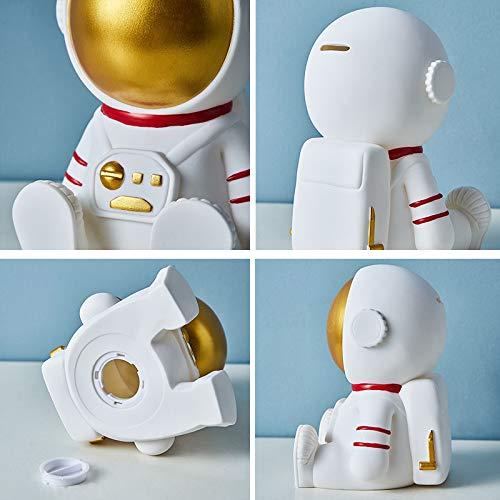 Gaolinci Astronaut Vinyl Figure, Children's Piggy Bank, Drop-Resistant Coin Bank, Children's Room Decoration