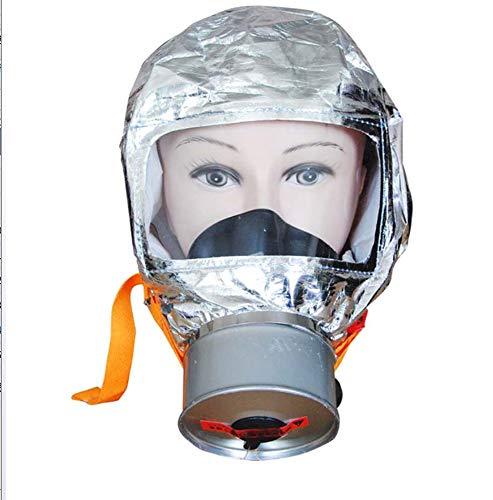 Wanjia Helm, Sicherheitsohr mit Escape Travel Kit Tragbares Feuer-Überlebenspaket für Büro, Einkaufszentrum