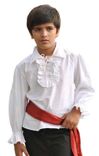 ThePirateDressing De neopreno corto para niños para disfraz de Jack Sparrow de las maravillas para adulto camiseta de manga corta
