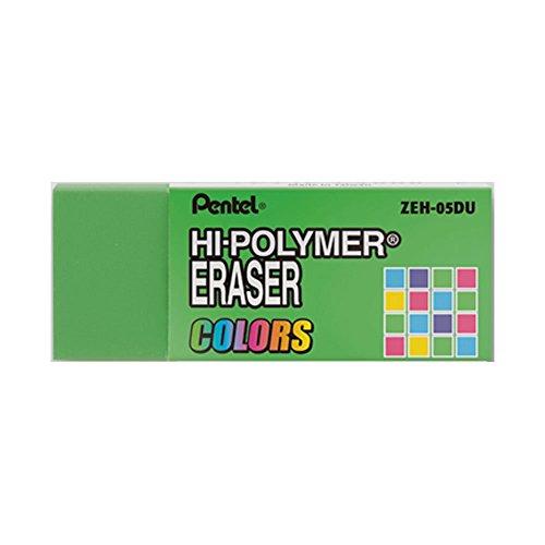 Pentel Hi-Polymer-Radierer klein in grün