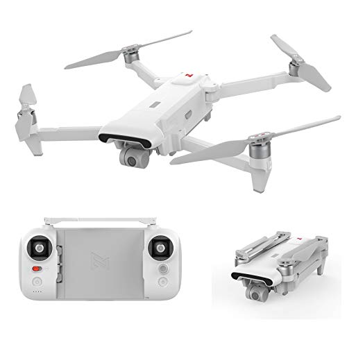 FIMI X8SE 2020 Foldable and Portable Desgin Drone 8km Range 35mins Flight Time 3X Digital Zoom Camera 4K HDR Video 3-Axis Mechanical Gimbal Rain-Proof Design FlyCam Quadcopter UAV with GPS