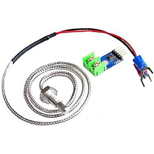 ARCELI Módulo MAX6675 + K Tipo Termopar Temperatura del Sensor del termopar 0~600 ℃ para Arduino