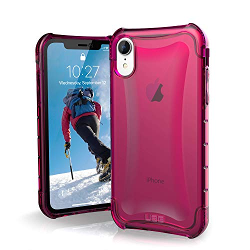 URBAN ARMOR GEAR UAG iPhone XR [6.1-inch Screen] Plyo Feather-Light Rugged [Pink] Military Drop Tested Phone Case