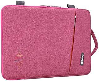 FYXKGLa Notebook Bag Computer Bag Men and Women Handbags Universal Liner Bag 13/14/15 Inch (Color : Pink, Size : 14 inch)