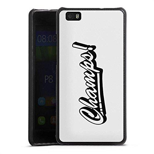 DeinDesign Cover kompatibel mit Huawei P8 lite (2015-2016) Lederhülle schwarz Leder Hülle Leder Handyhülle Proownez Fan Article Merchandise Fanartikel Merchandise