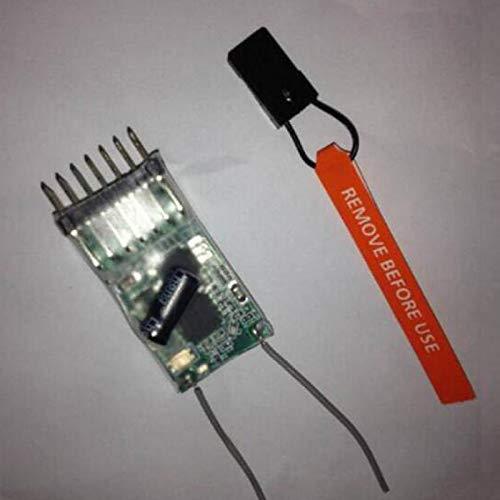 Willowhe New 6100E 2.4GHz 6-Kanal Micro DSM2 Empfänger für JR / SPEKTRUM