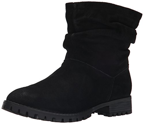 Chinese Laundry womens Flip boots, Black Suede, 6.5 US