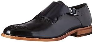 Stacy Adams Men's Dinsmore Plain Toe Monk Strap Slip-On Loafer by Stacy Adams