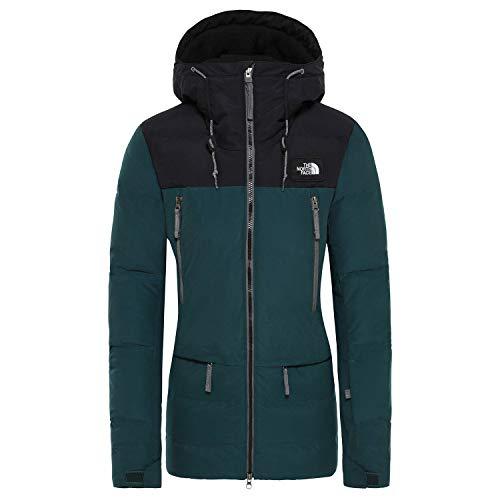 North Face Pallie Down Jacket Medium Ponderosa Green TNF Black
