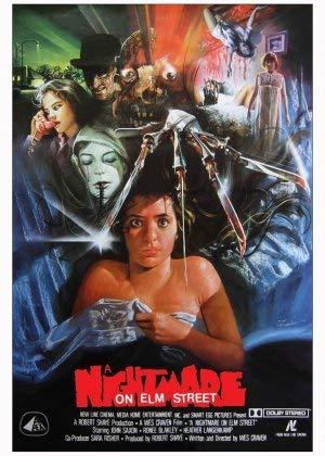 Nightmare ON ELM Street – US Movie Wall Poster Print - A4 Size Plakat Größe Freddy Krueger