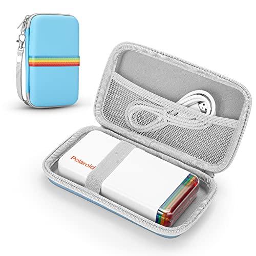 PhD Keisi Funda Estuche para Polaroid 9046 Hi-Print 2x3 Pocket Photo Bluetooth Printer, Bolso Rígida para Bolsa de Viaje portátil (Blue)