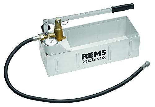 REMS Push–Pumpe Druck Prüfung manuell Push Edelstahl