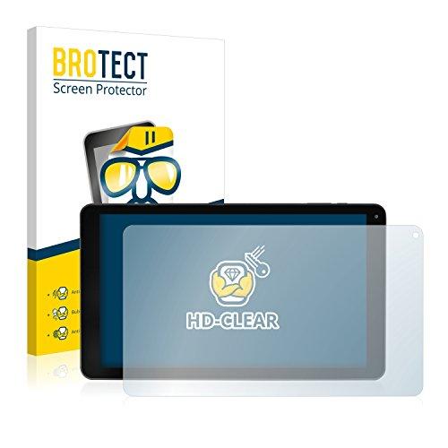 BROTECT Schutzfolie kompatibel mit Blaupunkt Atlantis 1001A (2 Stück) klare Bildschirmschutz-Folie