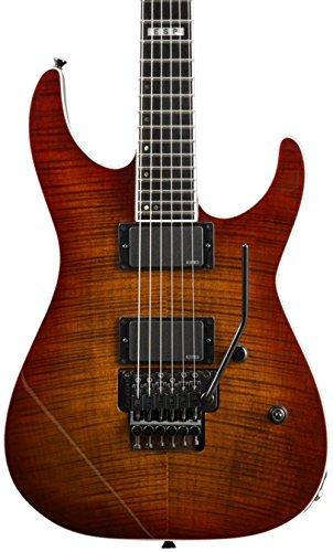 ESP - Guitarra eléctrica EII M-II FM, color madera de cerezo ...