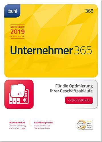 WISO Unternehmer 365 Professional (aktuelle Version 2019) Optimierung Ihrer Geschäftsabläufe | 2019 | PC | PC Aktivierungscode per Email