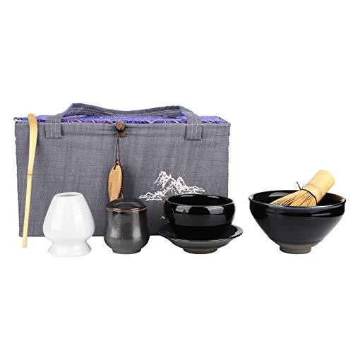 Juego de tenedor de té de estilo tradicional para herramientas de té, casas de té de recuerdo de regalo para el hogar(Ugin)